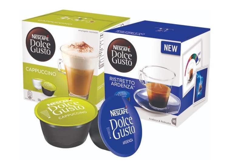 3. กาแฟแคปซูล ยี่ห้อ NESCAFE Dolce Gusto