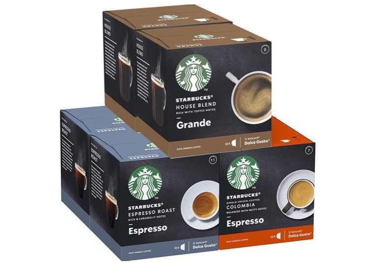 4. แคปซูลกาแฟ ยี่ห้อ Starbuck Dolce Gusto by NESCAFE