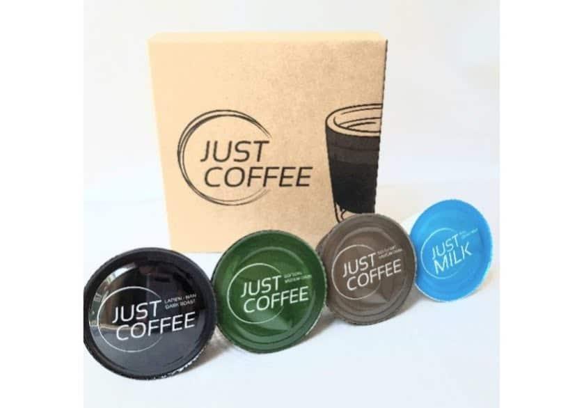 8. แคปซูลกาแฟ ยี่ห้อ Just Coffee