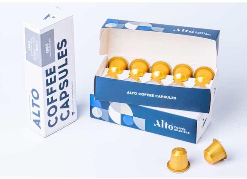 9. กาแฟแคปซูล ยี่ห้อ Alto Coffee