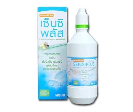 4. น้ำยาคอนแทค ยี่ห้อ Sensiplus