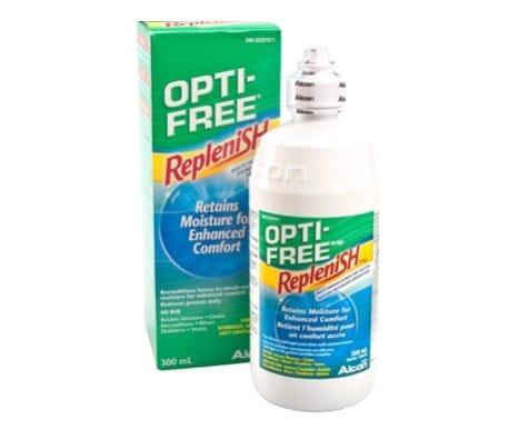 5. น้ำยาล้างคอนแทคเลนส์ ยี่ห้อ OPTI-FREE Replenish