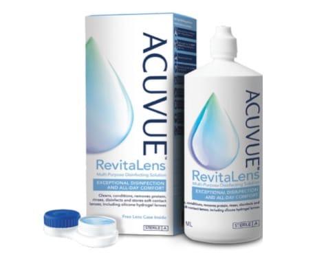 8. น้ำยาคอนแทค ยี่ห้อ ACUVUE RevitaLens Multi-Purpose Disinfecting Solution