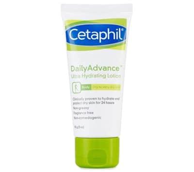 10. โลชั่นผิวแห้ง ยี่ห้อ Cetaphil Daily Advance Ultra Hydrating Lotion