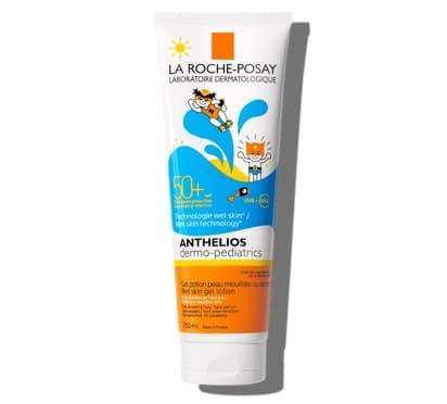 1. กันแดดเด็ก ยี่ห้อ La Roche Posay Anthelios Dermo-Pediatrics Wet Skin Gel Lotion SPF50+