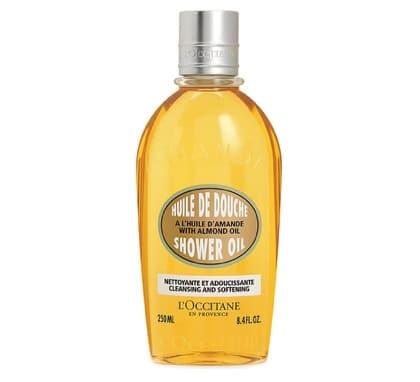 1. ครีมอาบน้ำ ผิวแห้ง ยี่ห้อ L'OCCITANE Almond Shower Oil