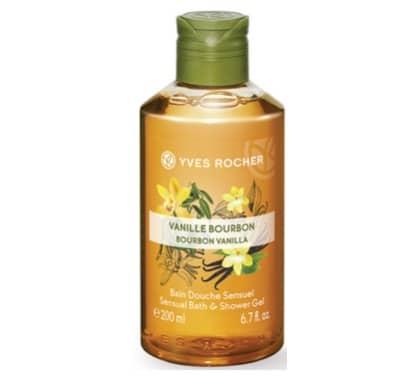 2. ครีมอาบน้ำ ผิวแห้ง ยี่ห้อ Yves Rocher Sensual Vanilla Shower