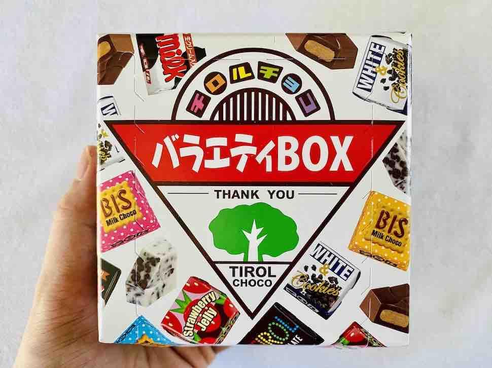 3. รีวิว ขนมช็อกโกแลต ยี่ห้อ TIROL CHOCO จากญี่ปุ่น