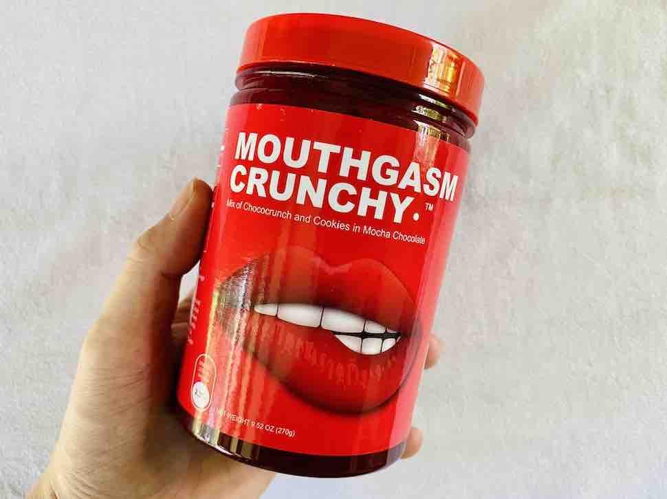 4. รีวิว ขนมช็อกโกแลต ยี่ห้อ NIMS CRISPY CHOCO TUBE