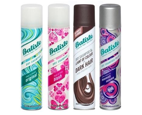 1. แชมพูแห้ง ยี่ห้อ Batiste Dry Shampoo