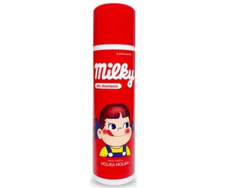 10. สเปรย์สระผมแห้ง ยี่ห้อ Holika Holika Milky Dry Shampoo