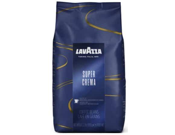 3. ยี่ห้อ Lavazza รส Super Crema