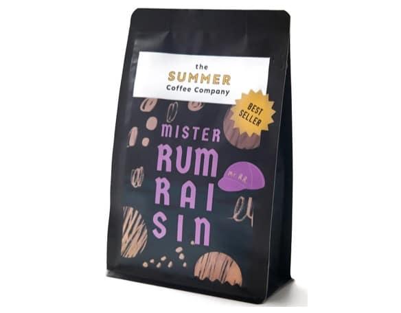 5. ยี่ห้อ The Summer Coffee Company รส Mr.Rum Raisin
