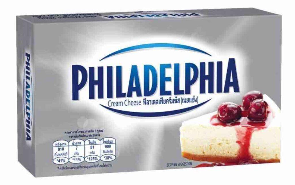 1. ยี่ห้อ Philadelphia