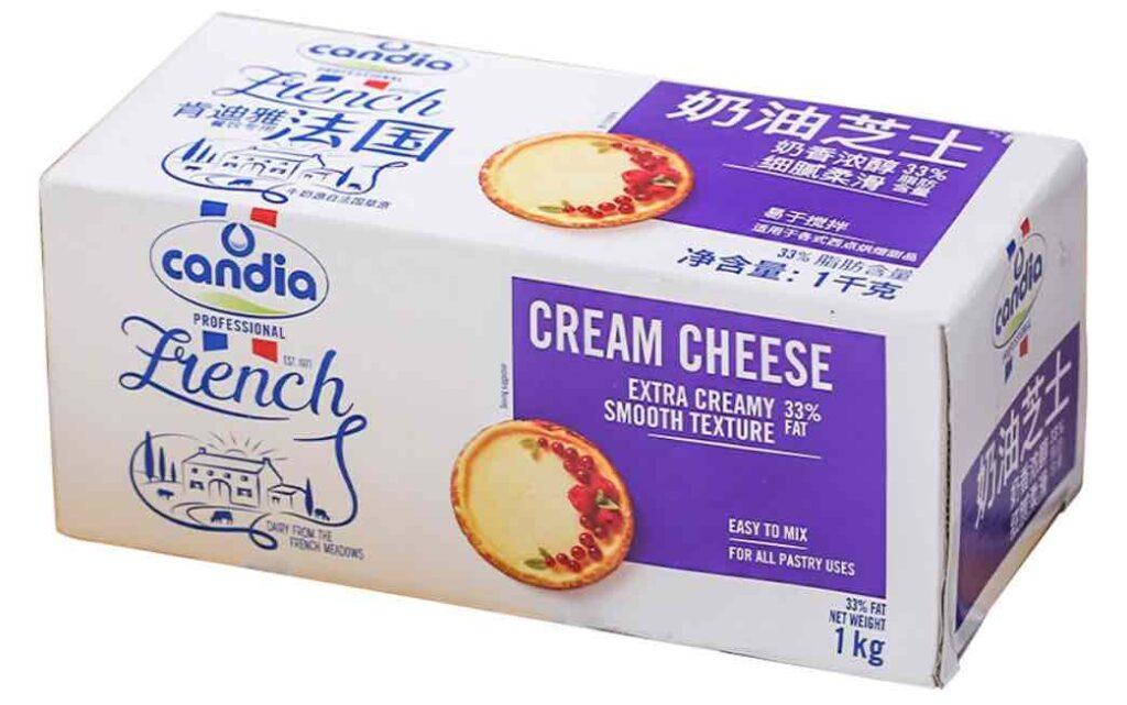 7. ยี่ห้อ Candia French Cream Cheese