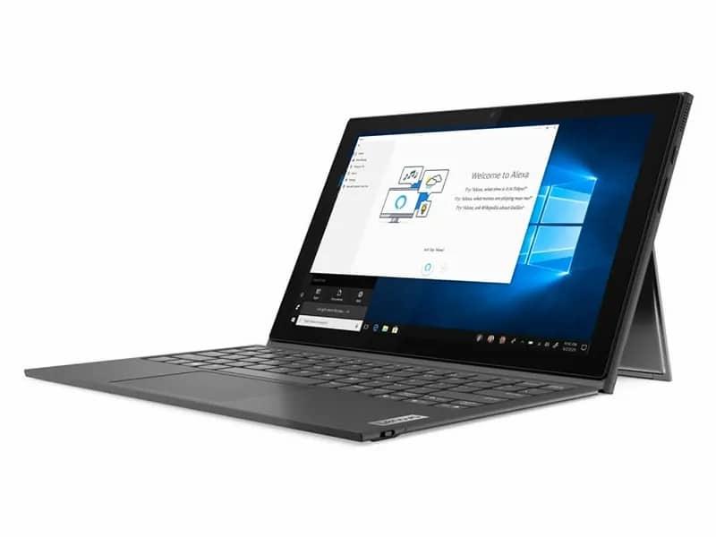 9. โน๊ตบุ๊ค ราคาไม่เกิน 20,000 ยี่ห้อ Notebook 2in1 Lenovo รุ่น Ideapad Duet 3 10IGL5